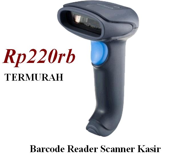 Barcode Reader Scanner termurah untuk kasir