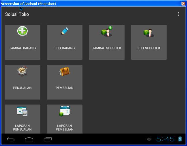 Free Software/Aplikasi/Program Kasir Toko / POS / Penjualan versi Android