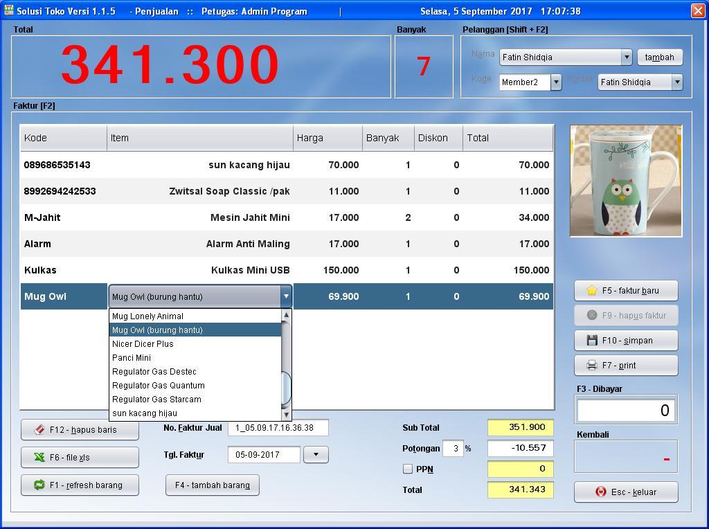 Free Software/Aplikasi/Program Kasir Toko / POS / Penjualan